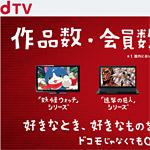 たった500円で、海外ドラマや映画、見放題、dTV、最高です!