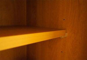 区切って使えるように、仕切り板が2枚ずつ付属