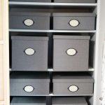 【IKEA】KVARNVIKふた付きボックスで収納×DAISOで中身の整理