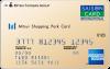 mitsui shopping card