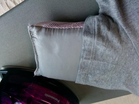 アイロン 袖のかけ方 グローブ