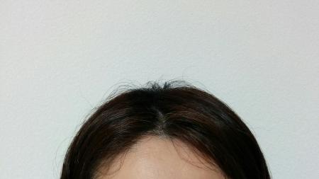 前髪1日目